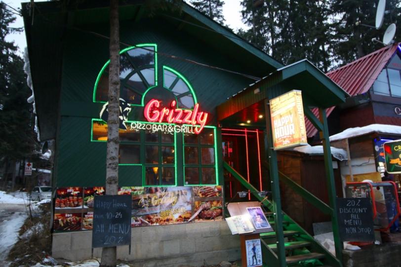 Пица - ресторант Гризли Боровец